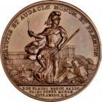 1779 (i.e. after 1880) De Fleury at Stony Point medal. As Betts-566, Julian MI-4. Copper. U.S. Mint