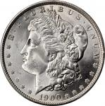 1900 Morgan Silver Dollar. MS-67+ (PCGS). CAC.