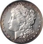 1893-CC Morgan Silver Dollar. AU Details--Cleaning (PCGS).