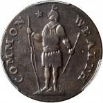 1787 Massachusetts Cent. Ryder 6-G, W-6140. Rarity-4-. Stout Indian, Arrows in Left Talon. VF-25 (PC