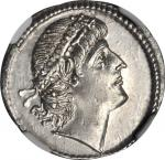 CONSTANTIUS II, A.D. 337-361. AR Siliqua (3.32 gms), Antioch Mint, ca. A.D. 337-347. NGC MS*, Strike