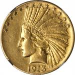 1913-S Indian Eagle. AU Details--Improperly Cleaned (NGC).