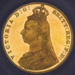 GREAT BRITAIN Victoria ヴィクトリア(1837~1901) Sovereign 1887 CGSケースAU75 AU/UNC