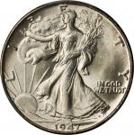 1947 Walking Liberty Half Dollar. MS-66 (PCGS).