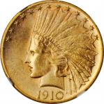 1910-S Indian Eagle. MS-62 (NGC).