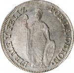 PERU. North Peru. 8 Reales, 1837-LIMA TM. Lima Mint. NGC MS-63.
