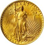 1915 Saint-Gaudens Double Eagle. MS-64 (PCGS).