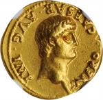 NERO, A.D. 54-68. AV Aureus (7.71 gms), Rome Mint, A.D. 60-61. NGC Ch EF, Strike: 5/5 Surface: 3/5.