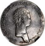1801年俄罗斯亚历山大一世白银卢布 NGC AU 55 RUSSIA Silver Ruble Novodel