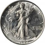 Lot of (2) Late Date Walking Liberty Half Dollars. MS-64 (PCGS). OGH.