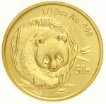 2003年熊猫纪念金币1/10盎司 完未流通
