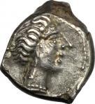 Celtic Coins, Cisalpine Gaul, Insubri. AR Drachm, imitating Massalia, 2nd-1st century BC. Cf. Pautas