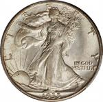 1935-D Walking Liberty Half Dollar. MS-63 (PCGS).