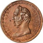 1852 Winfield Scott Medal. DeWitt-WS 1852-7. Copper. 32 mm. MS-64 RB (PCGS).