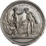 1781 (i.e. March-April 1789) Daniel Morgan at Cowpens obverse cliche. As Betts-593. White metal. Ori