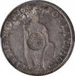 PHILIPPINES. Philippines - Peru. 8 Reales, ND (1832-34). Ferdinand VII. PCGS EF-40 Gold Shield; Coun