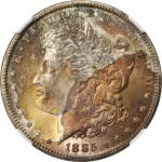 1885-CC Morgan Silver Dollar. MS-67+ (NGC). CAC.