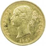 Lot 2624 BRITISH INDIA: Victoria, Queen, 1837-1876, AV mohur 4011.63g41, 184140c41, KM-462, SW-3.7,