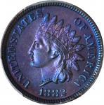1882 Indian Cent. Proof-66 BN (PCGS).