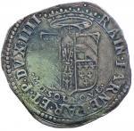 Italian coins;PARMA Ranuccio I Farnese (1592-1622) 9 Soldi - MIR 995 AG (g 2.74) RRR Sigillato BB da