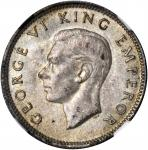 NEW ZEALAND. 6 Pence, 1942. NGC MS-63.