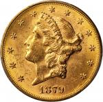 1879-S Liberty Head Double Eagle. MS-62 (PCGS).