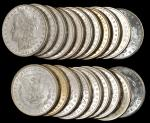 Lot of (360) 1884-O Morgan Silver Dollars. Average MS-60 to MS-63.