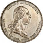 Circa 1859 Calendar medal by True. Musante GW-303, Baker-385. Brass, Tinned. AU-55 (PCGS).
