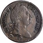 1783 Washington Georgivs Triumpho Token.  Musante GW-54, Baker-7, W-10100. AU-50 (PCGS).
