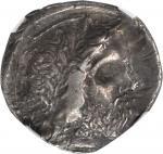 ITALY. Bruttium. Locri Epizephyrii. AR Stater (7.36 gms), ca. 400-350 B.C.