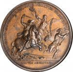 1781 Lieutenant Colonel John E. Howard at Cowpens Medal. Original Dies. Bronze. 46 mm. Betts-595, Ju