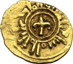 Monete e Medaglie di Zecche Italiane, Palermo o Messina.  Guglielmo II (1166-1189). Tarì con fiordal