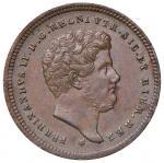 Italian coins;NAPOLI Ferdinando II (1830-1859) 2 Tornesi 1852 - Magliocca 740 CU (g 6.58) - qSPL;20
