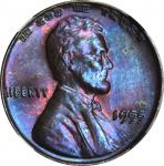1955 Lincoln Cent. FS-101. Doubled Die Obverse. MS-64 BN (NGC).