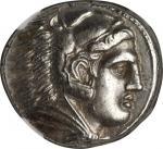 MACEDON. Kingdom of Macedon. Alexander III (the Great), 336-323 B.C. AR Tetradrachm (17.26 gms), Amp