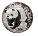 2001年中国人民银行发行熊猫银币