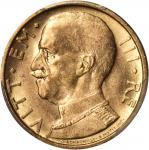 ITALY. 50 Lire, 1933-R Year XI. PCGS MS-63 Secure Holder.