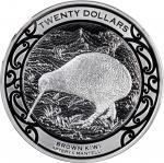 2019年新西兰一公斤银币 完未流通 NEW ZEALAND. Silver 20 Dollars (Kilo)