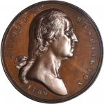 1789 (ca. 1889) Seal of New York City Medal. First Obverse. Bronze. 35 mm. Musante GW-1126, Baker-67
