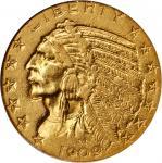 1909-O Indian Half Eagle. AU-55 (NGC).