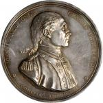 1779 (ca. 1880-1898) Captain John Paul Jones / Serapis vs Bonhomme Richard Medal. Paris Mint Restrik