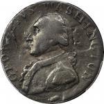 1795北威尔士便士铜章 PCGS AU 53