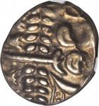 CELTIC BRITAIN. Durotriges. AV/EL Stater (5.80 gms), ca. 60-20 B.C. NGC AU, Strike: 5/5 Surface: 5/5