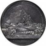 1878 Life Saving Benevolent Association of New York Medal. By George Hampden Lovett. Silver. About U