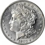 1883-S Morgan Silver Dollar. MS-63 (PCGS).