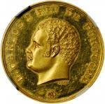 印度/葡萄牙印度/果阿。1890年工业与农业博览会金章。里斯本造币厂。