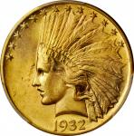 1932 Indian Eagle. MS-64+ (PCGS). CAC.