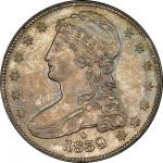 1839-O Capped Bust Half Dollar. Graham Reiver-1. Rarity-1. HALF DOL. Mint State-66 (PCGS).