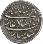 MUGHAL: Ahmad Shah Bahadur, 1748-1754, AR rupee 4011。44g41, Multan, AH1161 year one 40ahad41, KM-446