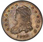 1822 Capped Bust Quarter. Browning-2. Rarity-5. 25/50C. Mint State-65 (PCGS).PCGS Population: 2, non